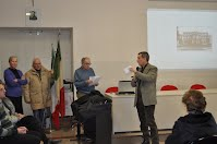Un momento della conferenza del 25 gennaio in aula magna