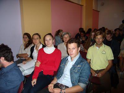 Gli studenti partecipanti all'esperienza