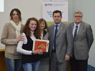 premiazione di Elena Ustulin